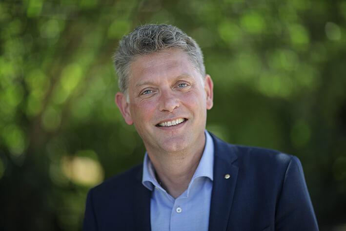 Frits Hoekstra, voorzitter college van bestuur Stichting Confessioneel Onderwijs Leiden