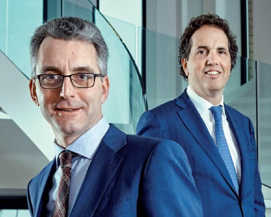 Peter Verhoef en Frans Woelders