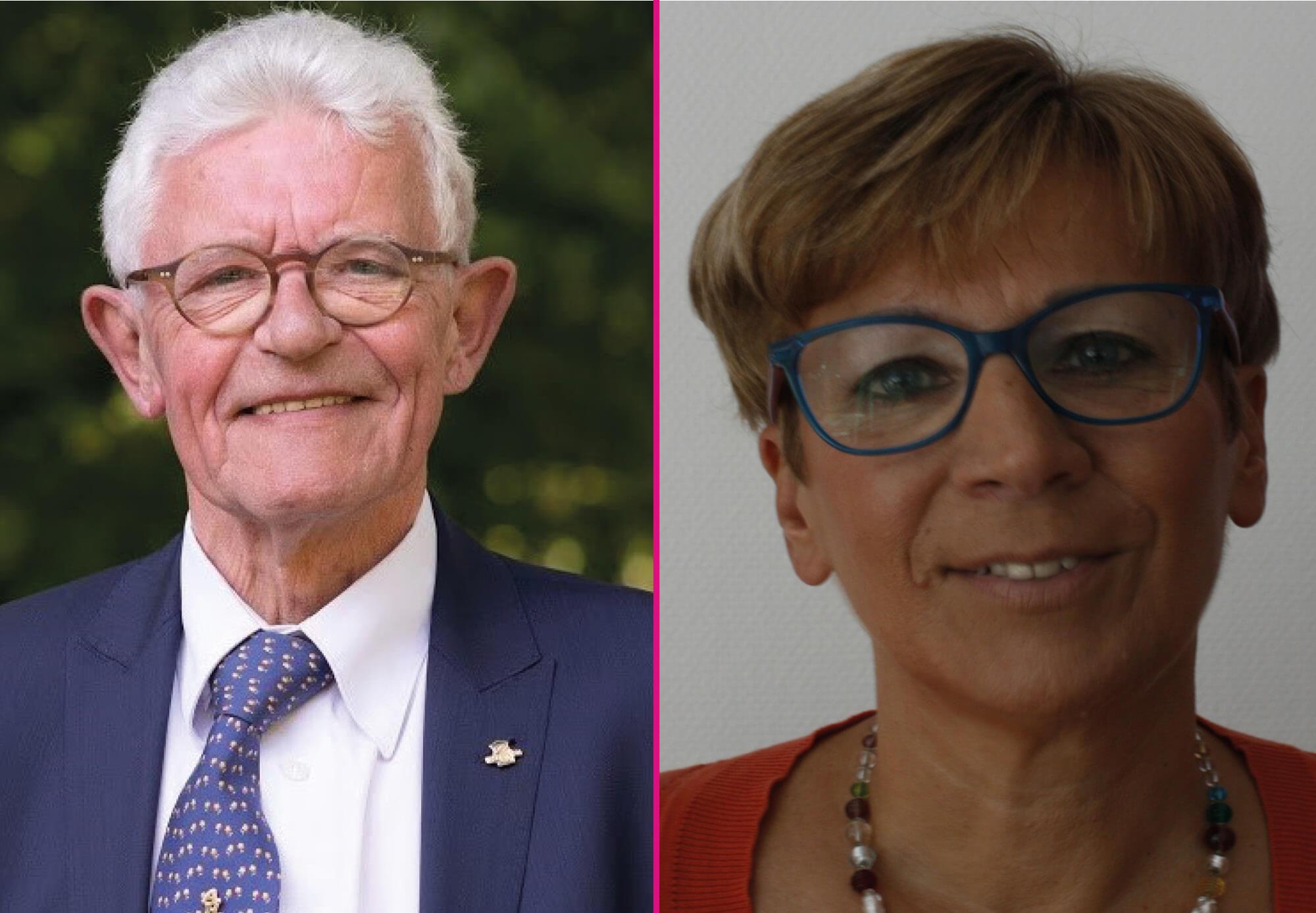 Prof. Em. Dr. Aimé Heene & Prof. Simonne Vermeylen