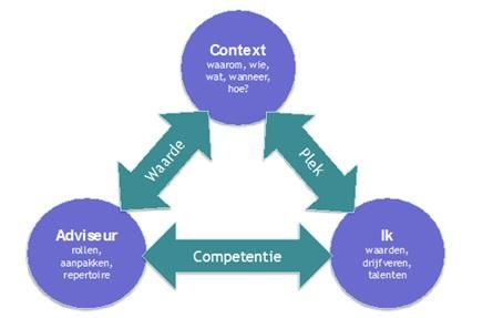 Model voor Meesterschap in Adviseren