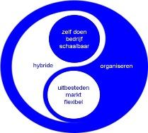 hybride organiseren