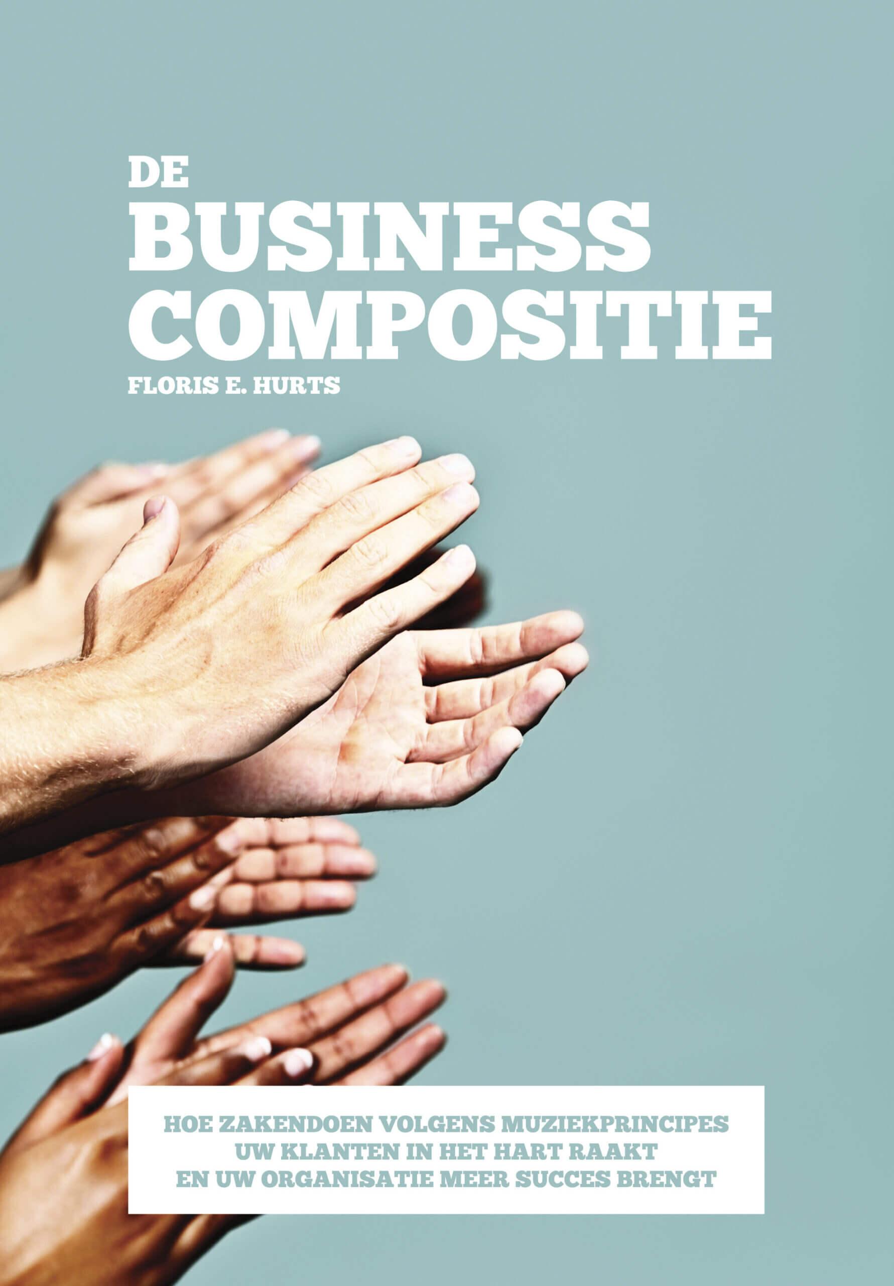 de business compositie omslag afbeelding