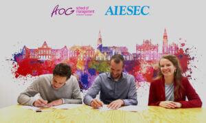 AIESAC en AOG - samenwerking